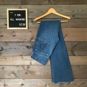 7For All Mankind A pocket  flare jeans